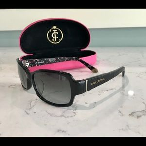 Juicy Couture black women's sunglasses